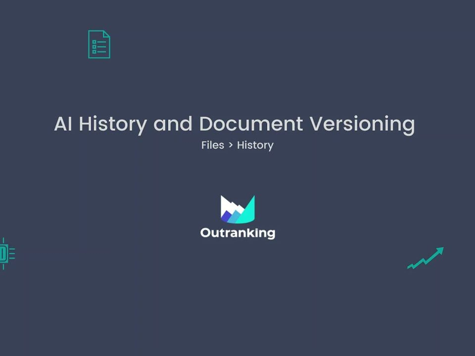 AI History and Document Versioning