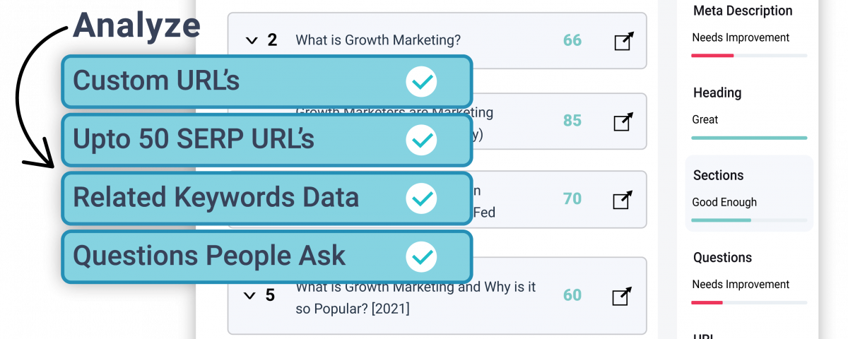 Analyze Content Competitors