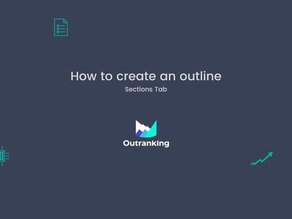 How to create an outline