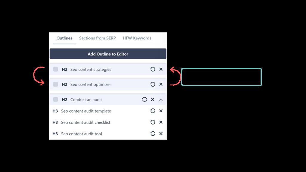 Outline Editor Drag Move 1